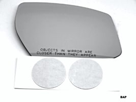 Fits 15-18 Nissan Maxima Right Pass Heated Convex Mirror Glass Lens w/Ad... - $38.56