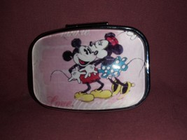 Mickey and minnie Custom Fashion Square Pill Box  - $13.99