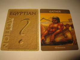 2003 Age of Mythology Board Game Piece: Egyptian Random Card - Gather - $1.00