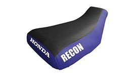 VPS Seat Cover Compatible With Honda Recon TRX250 1997-2000 Logo Blue Sides Seat - $45.99