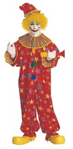 Clown Costume Adult Funny Comical Halloween Childs Party Unique One Size... - $67.99
