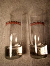 (2)  CAZADORES TEQUILA  SHOT GLASSES  TALL / SLENDER---FREE SHIP--VGC - $19.08