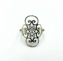 Paloma Picasso Tiffany & Co. Venezia Goldoni Silver Ring Size 6.5US - $243.52