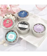 inch Simply Sweet inch  Round Candy Tin - Wedding (2 Sets of 12) (Avail... - $28.99