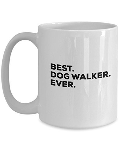 Dog Walker Mug - Dog Walker Gifts - For Gift Basket Set Bag - Dogwalker Coffee C