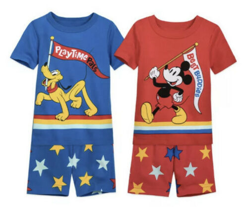 MICKEY MOUSE AND PLUTO PJ PALS SET FOR BOYS SZ 4T NEW Both Sets Included - $29.99