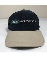 VTG Milwaukee Brewers Hat Strapback Cap American Needles 90s MLB Blockhead - $13.60
