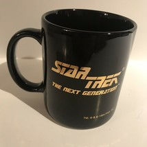 Vintage 1994 Star Trek The Next Generation TNG Federation Badge Coffee Cup A5806 - $26.95