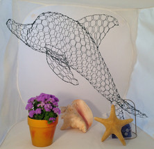 Small Dolphin Topiary Frame - $65.00