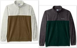 Columbia Men's Big & Tall Steens Mountain Half Zip Fleece Pullover, Size... - $38.99