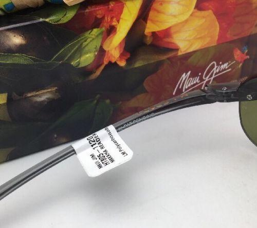 2438e8aa1f MAUI JIM Sunglasses MAKAHA READER + 2.0 HT 805-11 20 Smoke Grey w/