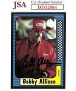 Bobby Allison signed NASCAR 1991 Maxx Charlotte Racing Trading Card #27-... - $26.95