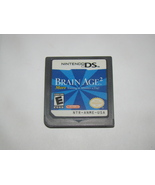 Nintendo DS - BRAIN AGE 2 (Game Only) - $15.00