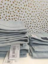 Spa Solid Washcloth Acoustic Aqua - Fieldcrest -13'' x 13''-100% cotton-NEW !  image 2