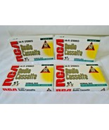 Lot of 4 RCA  Audio Cassette 60 Minutes Hi-Fi Stereo Normal Bias NEW Sealed - $12.99