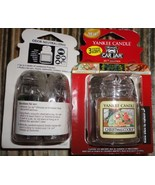1 new yankee candle ultimate car jar air freshener holiday 3 pack - $9.00