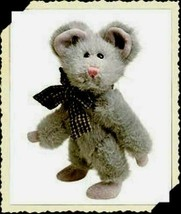"Boyds Bears ""Chedda Mousaka"" 6"" PLUSH Mouse- #5756-06 *NWT- 1993- Retired - $18.99"