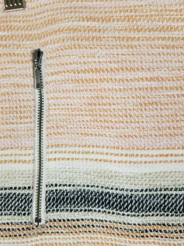 Ann Taylor Loft Frauen 8 Bleistiftrock Ausgefranst Saum Fransen Rand image 4