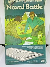 Vintage 1974 3M Board Game Naval Battle A Tactical Game of survival 2 Players - $10.88