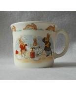 Royal Doulton Bunnykins Hug-a-Mug 1 Handle Albion Shape Cup - Water Figh... - $19.99