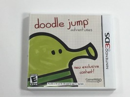 Doodle Jump Adventures 3DS Game and Box - $2.97