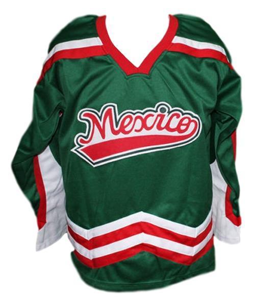 Mexico hockey jersey green   1