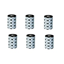 Zebra Genuine 03200BK13145 5.16x1476' Black Wax-Resin Ribbon Pack of 6 - $137.65