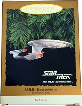 Hallmark Keepsake Ornament Star Trek The Next Generation U.S.S. Enterpri... - $19.99