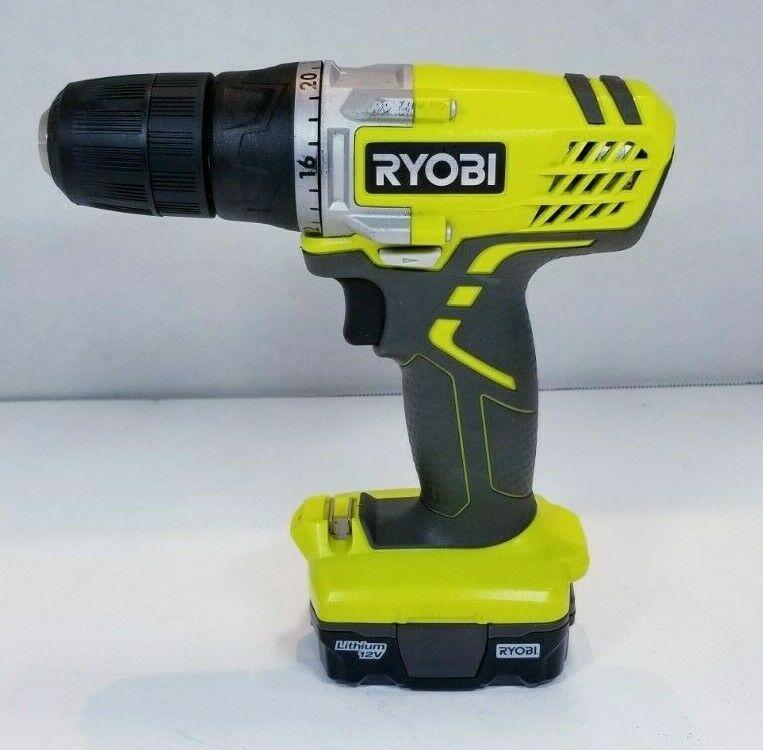 "Ryobi 12-Volt 12V Compact 3/8"" Drill - HJP003  - $23.66"