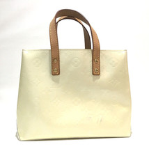 LOUIS VUITTON MonogramVernis Lead PM Mini Hand Bag Tote Bag Perle M91336 - $220.00