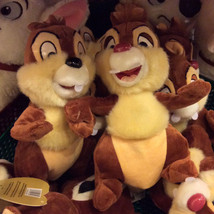 Disney Parks Chip & Dale Plush Toy Set Chipmunk Pals Stuffed Animals New - $46.51