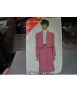 Butterick See & Sew 3891 Jacket & Skirt Pattern - Size 14/16/18 Bust 36-40 - $5.93