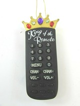 KING OF THE REMOTE CHRISTMAS ORNAMENT Roman 33843 - $17.81
