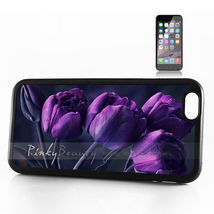 iPhone 4 / 4S Back Case Cover Purple Flower - $20.00