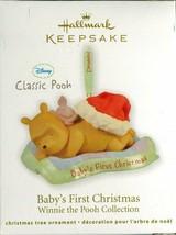 2011 Hallmark Keepsake Ornament - BABY'S FIRST CHRISTMAS Winnie the Pooh... - $9.89