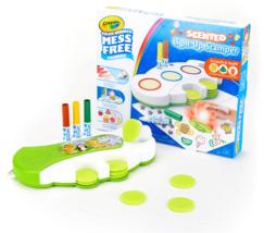Crayola Color Wonder Light Up Stamper with Scented Inks Gift for Kids Ages 3-6 image 2