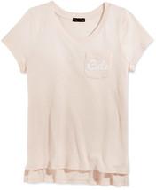 Monteau Girls' V-neck T-Shirt, Size M, MSRP $24 - $11.87