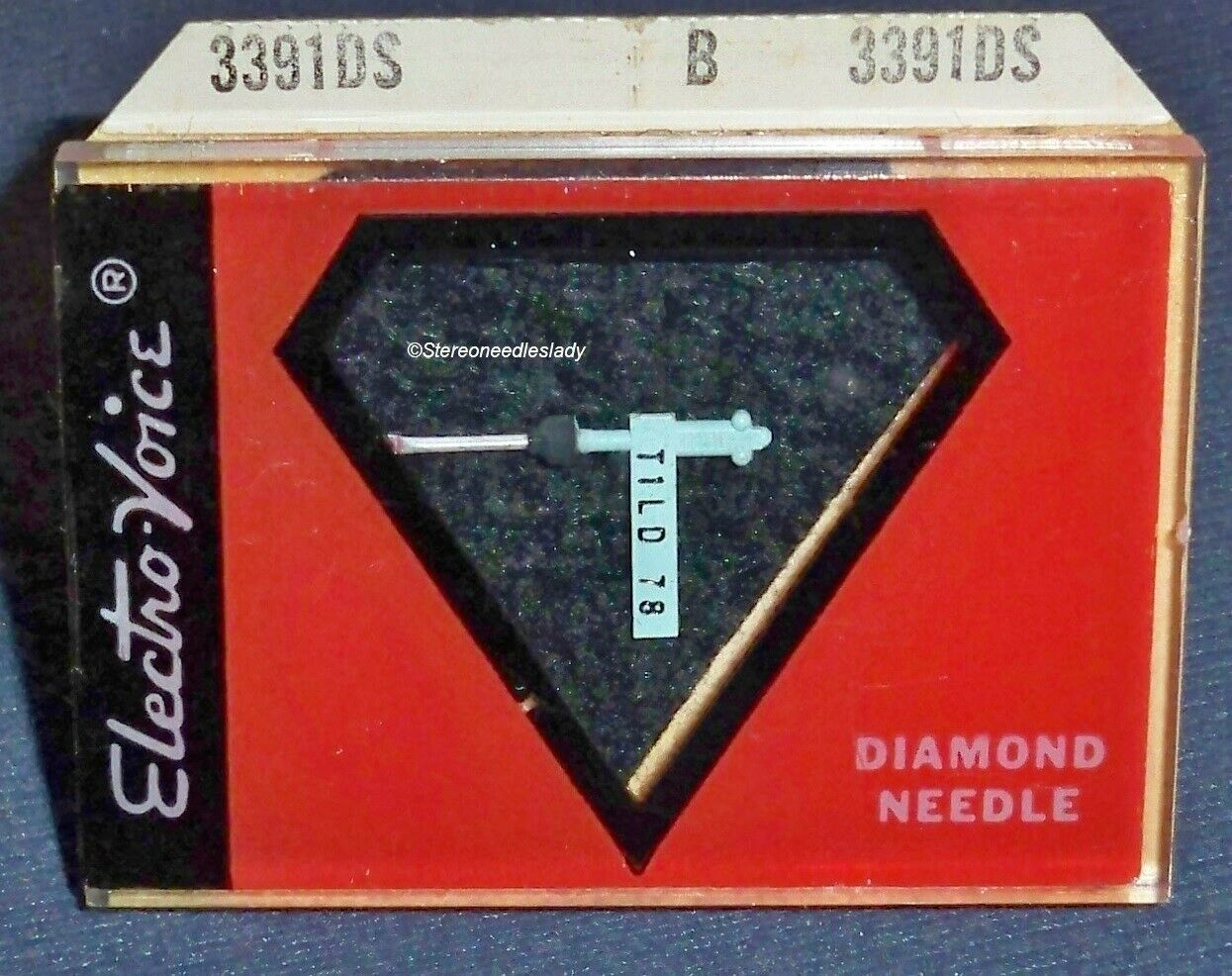 STEREO PHONOGRAPH NEEDLE for Tetrad T1LD 10d 11d 11s 12d 31d 31s M855-DS73