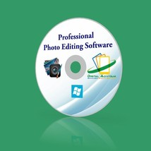 NEW 2017 Professional Photo Image Editing Software Photo shop Guide Wind... - $11.75