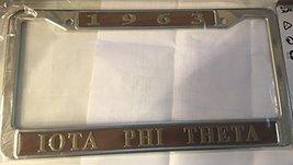 Iota Phi Theta New Metal License Plate Frame - $19.79