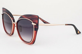 DITA STORMY Red Gold / Gray Gradient Sunglasses DRX 22033 D 58mm - $296.01