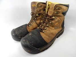 Keen Milwaukee Size 9.5 2E WIDE EU 42.5 Men's WP Steel Toe Work Boots 1009174EE