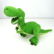 Disney Pixar Toy Story Disney Rex Plush Stuffed Animal 7 Inch Polyester  - $11.75
