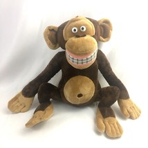 Madagascar Monkey Mason Plush Soft Toy Stuffed Animal Dreamworks 2005 Russ - $19.75