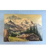 Suomen Swiss Music Box Thorens Vintage 1/28 Vintage Swiss Alps Bungalow - $125.00