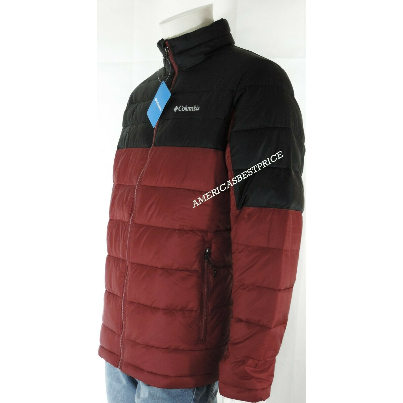 COLUMBIA NEW MEN/'S RAINCREEK FALLS WATER-RESISTANT SEALED HOOD RAIN JACKET NWT