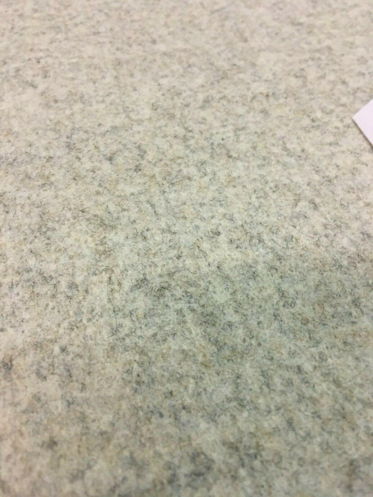Wool Upholstery Fabric Light Gray Melange 1.25 yards GY