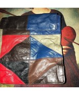 Sweet Hippy Vintage Patchwork Leather Purse {Unbranded} - $13.86