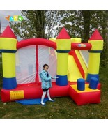 Yard Inflatable bouncy castle 4X3.8X2.5M Kids Trampolines Castle Jumping... - $1,089.98