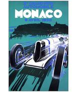 3012.Grand Prix Automobile Vintage Ad Poster. Monaco 1930 Decorative  wa... - $10.45+